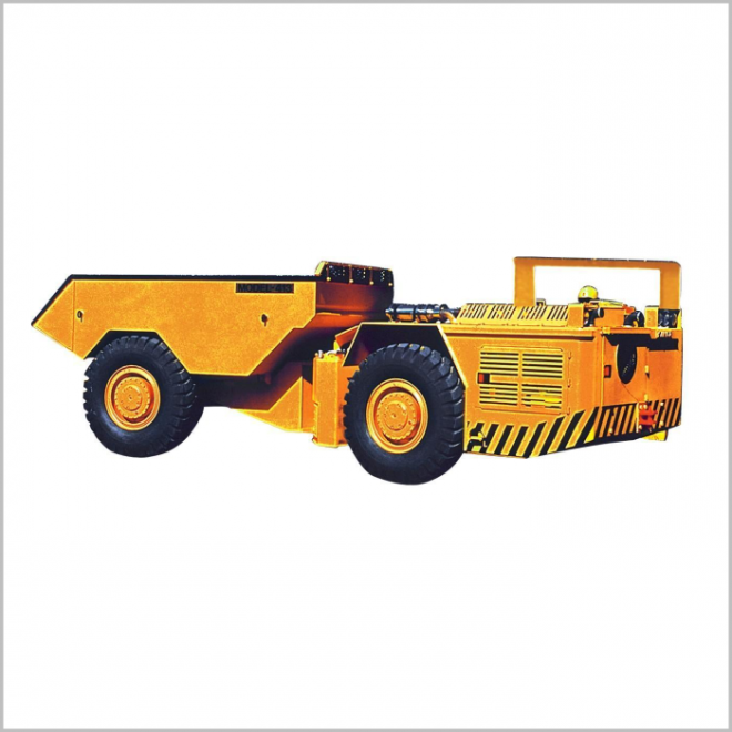 Low Profile Dump Truck