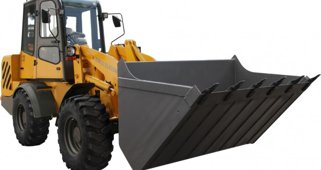 Going Hi-tech : Eimco Elecon's new and unique articulated wheel loader, AL-120 expected to fill up a void in the material handling equipment industries.